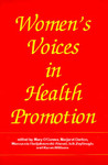 1999 women's voices in health promotion cvr